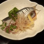 日本料理雲海 - 酢の物。
