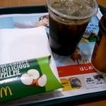 マクドナルド - プレミアムローストコーヒー&プレミアムローストアイスコーヒー&ホットアップルパイ