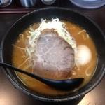 16638343 - 味噌らぁ麺 +味玉