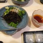 紋寿司 - もずくそーめん