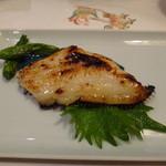紋寿司 - カレイ西京焼き