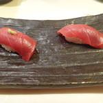 紋寿司 - 中トロ握り