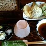 やぶ忠 - 料理写真:田舎蕎麦