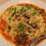 16640352 - 特製汁なし担々麺(大盛り)