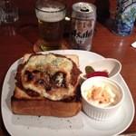 チープトリック - キーマカレートースト