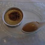 16642697 - かぼちゃのクリームブリュレとキャラメルのアイスクリーム