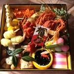 自然美庵 日本料理 悠善 - 一の重 悠善