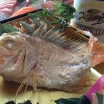 自然美庵 日本料理 悠善 - 鯛が隠れていた 悠善