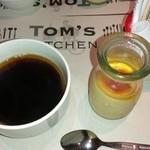 トムズキッチン - プリンとコーヒー