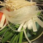 鍋ぞう - 野菜市場から取ってきた野菜の一例
