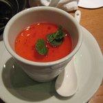 豚菜健美 とこ豚 - プリン苺ソース