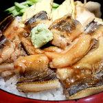 割烹 すし文 - 穴子丼