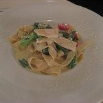 1665709 - 旬野菜のクリームソースのタリアテッレ