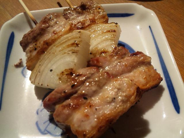 もつ煮 串焼 朝日