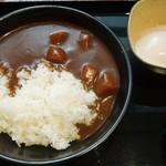 吉野家 - 半熟卵カレー並