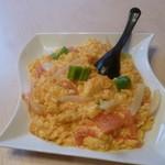 中国料理 シルクロード - トマトの玉子炒め