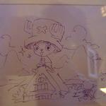 16651740 - 訪れたONEPIECEの尾田栄一郎さんのイラスト