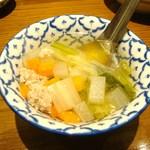 ティーヌン 青山店 - スープ