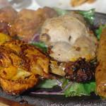 インド料理 ムンバイ - タンドゥーリ盛り合わせ