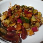 インド料理 ムンバイ - 豆のサラダ