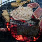 16652160 - トントロ、レバー、牛タン、牛カルビ