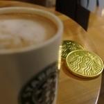 スターバックスコーヒー - カフェモカ+チョコチップ、コーシー増量