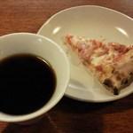 ナポリの食卓 - 料理写真:ピザ食べ放題スタート~1つ目はソーセージとオニオン