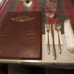 ネイチャータンドール - テーブルセッティング