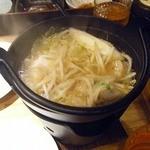 16657616 - 鶏とつくねのちゃんこ鍋