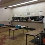 尼崎市役所 職員食堂 - 提供カウンター