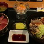 木々亭 - 「マグロ丼セット」999円