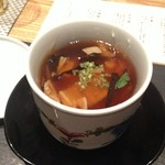 16659486 - トランペット茸、生湯葉、千珠牡蠣