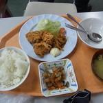 国際ロッジ バンビーナ - 芸北定食、翌日はとりのあんかけ定食でした。