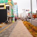 カリーザキッチン - 岐阜街道を岐阜方面へ向かって左沿いにあります