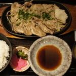 咲くら - 豚ロースと野菜の鉄板焼き定食