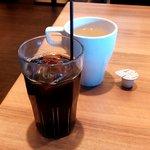 一瑳 - スープとアイスコーヒー(2012.12)