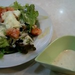 16661942 - 温玉のせシーザーサラダ