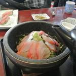 一心 - 金目鯛石焼どんぶりシャブシャブ茶漬け ¥1580