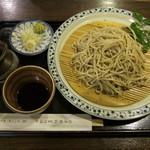 夢境庵 - 十割そば(1000円)