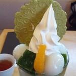 伊藤久右衛門 - 『抹茶パフェ』~♪美味しいぜぇ~い♪(^o^)丿