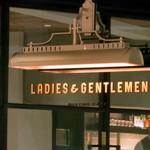 ビストロカフェ レディース&ジェントルメン - その他写真:看板です