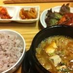 韓国料理 HARU - ランチ カンジャンセウ定食?だったような
