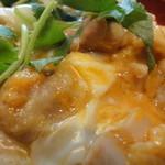 農園レストラン みやもとファーム - 親子丼アップ