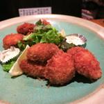 奈加野 - 牡蠣と帆立の揚物