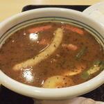 クアテルメ宝泉坊 レストラン - スープカレー(ライス付) 720円