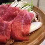 赤倉温泉 あべ旅館 - 最上牛すき焼き(夕食)