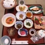 赤倉温泉 あべ旅館 - 夕食例