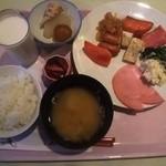 赤倉温泉 あべ旅館 - 朝食バイキング例