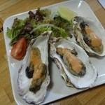 居酒屋 ふじさわ - 牡蠣バター焼き