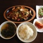 山&川 - ダッカルビ定食